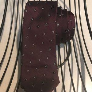 Calvin Klein Accessories - Calvin Klein red power tie